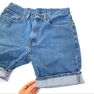 🌸🌵🌼Levi's | 505 Vintage High Waisted Shorts 34
